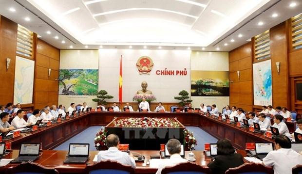 越南政府总理要求从严执行政府工作条例 hinh anh 1