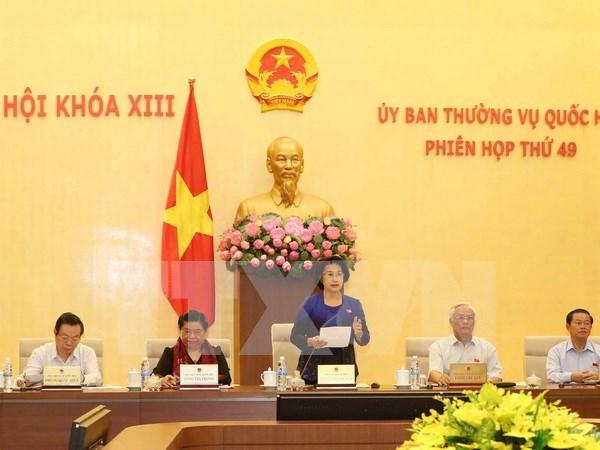 越南第十三届国会常委会第四十九次会议在河内开幕 hinh anh 1