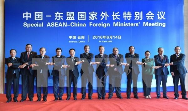 范平明副总理出席中国-东盟国家外长特别会议 hinh anh 1