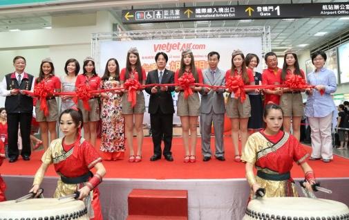 越捷航空公司开通胡志明市飞至台南市直达航线 hinh anh 2