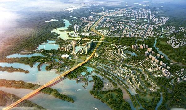 日新—内排公路两侧建设详细规划对外公布 hinh anh 1