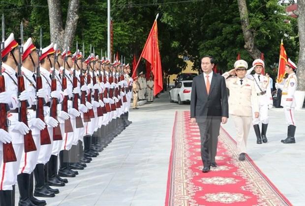 陈大光主席:将人民安全学院建设成为国内和地区权威科研中心 hinh anh 1