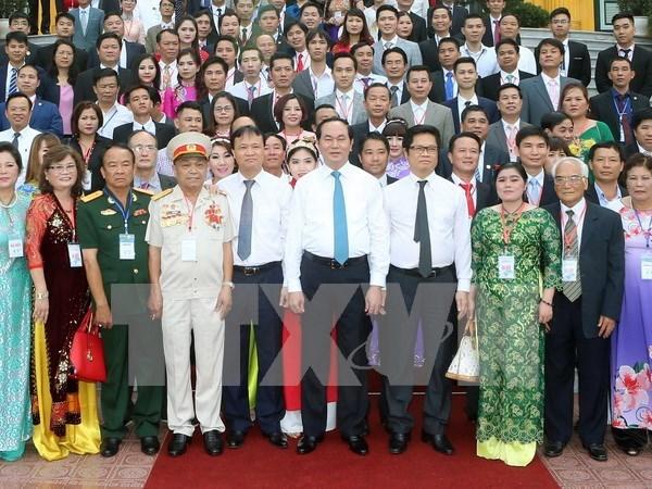 国家主席陈大光:融入世界和参加新一代自贸协议有助扩大越南经济新的发展空间 hinh anh 1