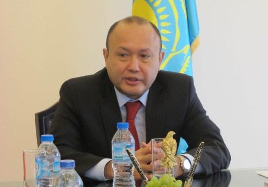 哈萨克斯坦驻越大使:越南有望成为欧亚经济联盟与东盟之间的货运中转站 hinh anh 1