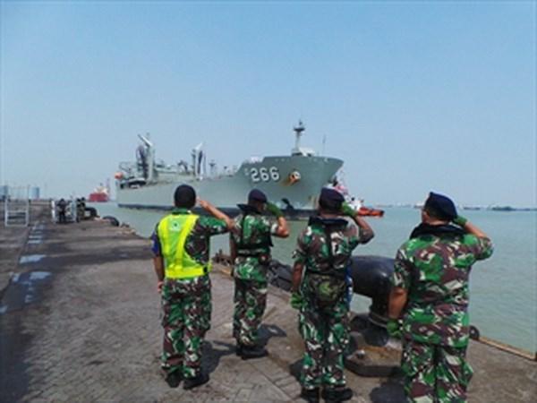 印尼在印澳边境海域进行巡逻 hinh anh 1