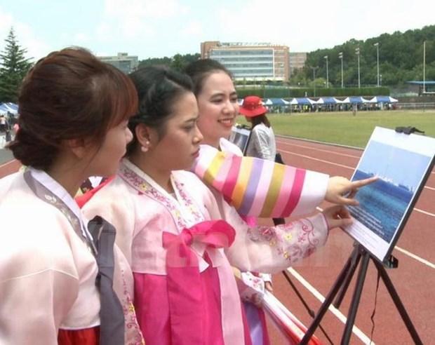 关于东海的图片展在韩国举行 hinh anh 2