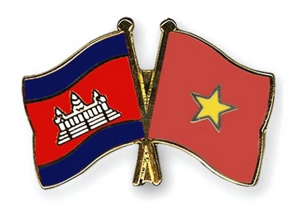越共中央致电柬埔寨人民革命党中央祝贺柬埔寨人民党成立65周年 hinh anh 1