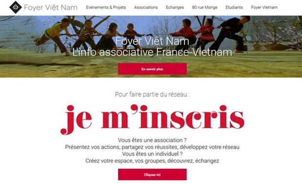 连接旅法越南人社群的越南大堂门户网站正式开通 hinh anh 1