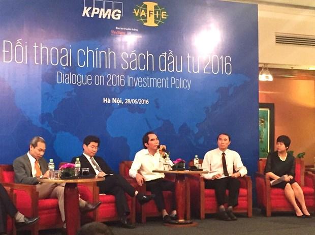2016年投资政策对话研讨会在河内举行 hinh anh 1
