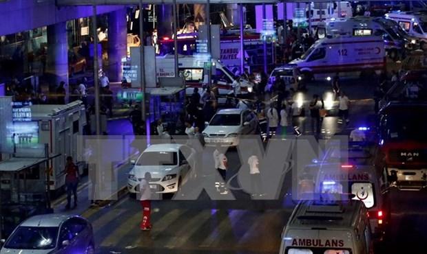 土耳其机场恐怖袭击事件后东南亚各国加强安保措施 hinh anh 1