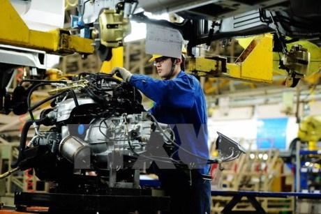 中国与东盟优先推动工业领域的合作 hinh anh 1