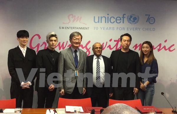 韩国向越南儿童音乐教育项目提供支持 hinh anh 1