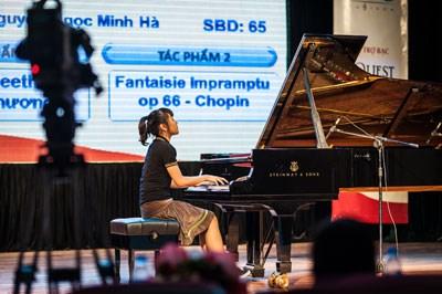 越南国家音乐学院举行全国儿童钢琴节 hinh anh 1
