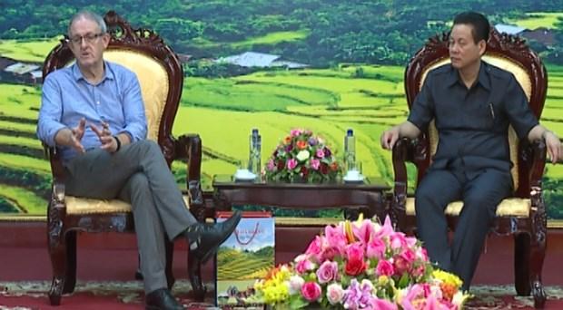 亚洲开发银行为越南河江省全面发展提供基础设施协助 hinh anh 1
