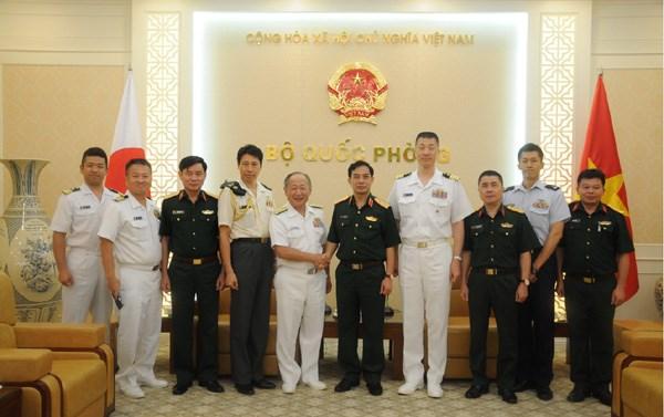 越南与日本进一步加强防务合作 hinh anh 1