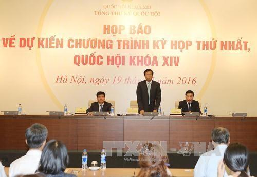 国家高层人事安排成为第十四届国会第一次会议的核心内容 hinh anh 1