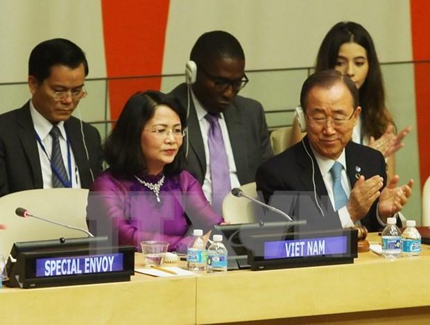 联合国对越南经济社会发展成就表示印象深刻 hinh anh 1