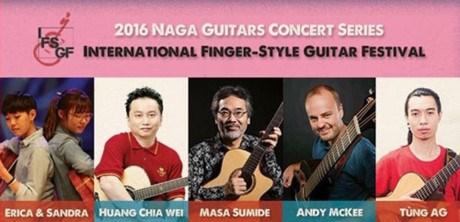 2016年国际指弹吉他音乐节亮相河内 hinh anh 1