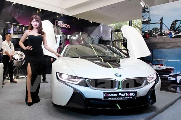 越南有史以来规模最大的国际汽车展览会将于10月份举行 hinh anh 1