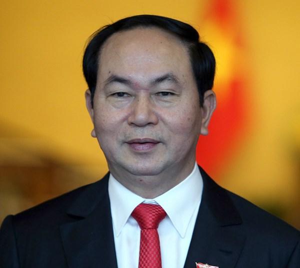越南国家主席陈大光简历 hinh anh 1
