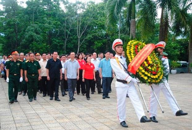越南伤残军人与烈士日69周年:全国各地陆续举行纪念活动 对伤残军人和英烈们表达感恩之心 hinh anh 1