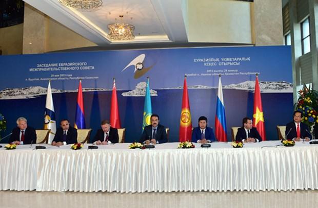 《越南与欧亚经济联盟自由贸易协定》有利于促进越南出口 hinh anh 1