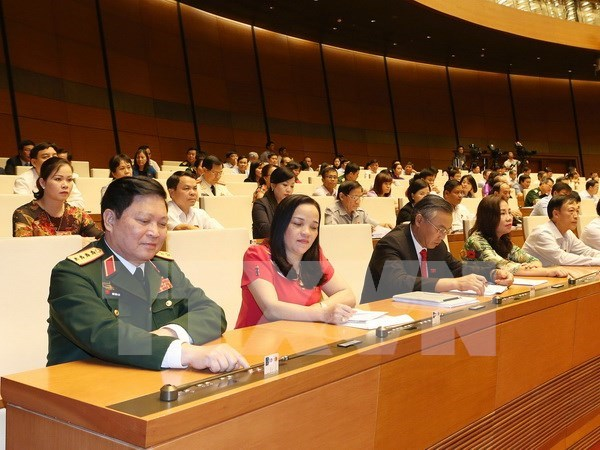 第十四届国会第一次会议:国会批准国防安全委员会副主任及委员名单 hinh anh 1