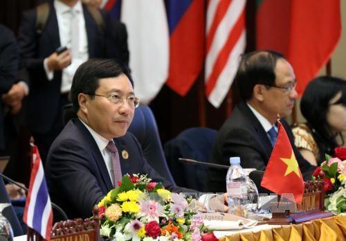 范平明副总理:维护和平环境 助推国家发展 hinh anh 1
