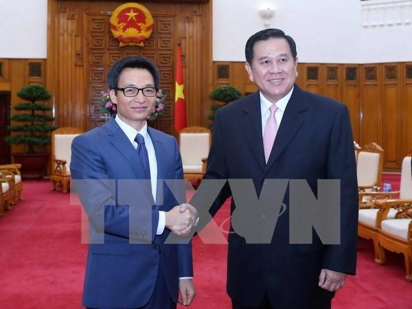 国家主席陈大光和政府副总理武德儋会见泰国副总理塔纳萨·巴迪玛巴功 hinh anh 2