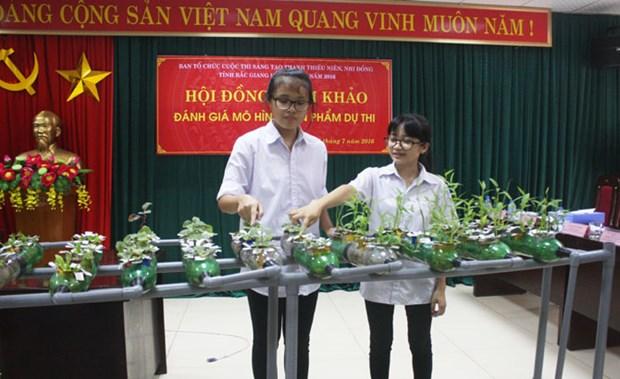 越南北江省青少年创新大赛获奖作品32个 hinh anh 1