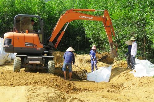越南国会科技与环境委员会组团监督河静省的环保工作 hinh anh 1