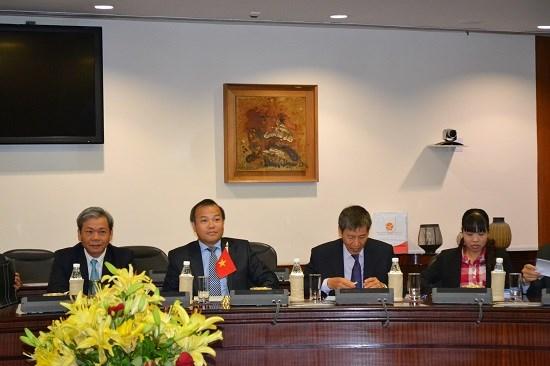 越南印度第八次副外长级政治磋商暨第五次战略对话在印度举行 hinh anh 1