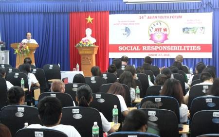 亚洲青年论坛在越南岘港市举行 hinh anh 1