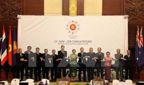 东盟与澳新两国贸易投资合作潜力巨大 hinh anh 1