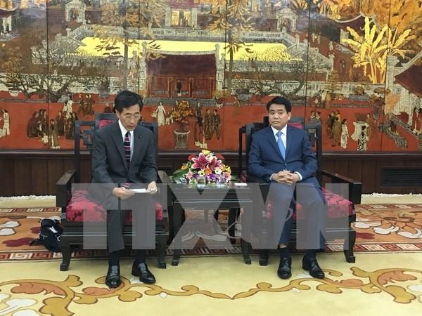 河内市鼓励日本企业对基础设施及环境领域进行投资 hinh anh 1