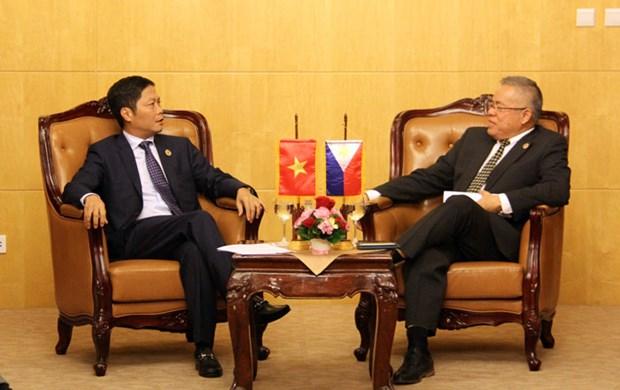 越南和菲律宾拟续签大米贸易协议 hinh anh 1