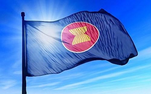 越南驻巴基斯坦大使主持东盟盟旗升旗仪式 hinh anh 1