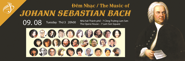 约翰•塞巴斯蒂安•巴赫音乐会在胡志明市举行 hinh anh 1
