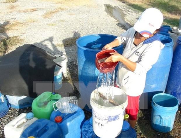 联合国儿童基金会会为越南旱灾和海水入侵灾害恢复工作提供资助 hinh anh 1