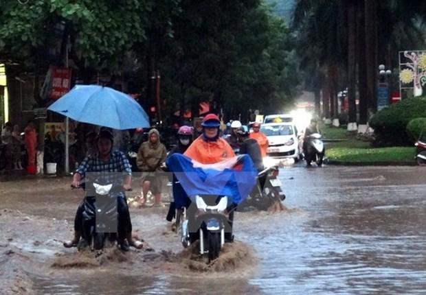 越南北部和北中部地区遭遇暴雨致至少7人死亡 hinh anh 1