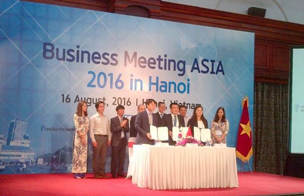 2016年亚洲商务会议在河内举行 hinh anh 1