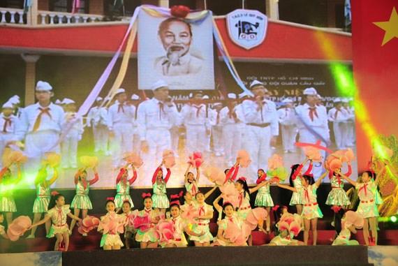 河内市举行系列活动庆祝八月革命和国庆71周年 hinh anh 1
