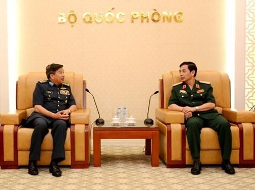 越马两国加强空军领域的合作 hinh anh 1
