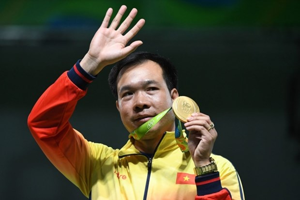 2016里约奥运会闭幕:越南体育代表团进入奖牌榜50强 hinh anh 1