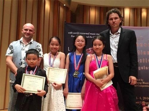 越南在2016年美国Lansum国际音乐节荣获22个奖项 hinh anh 1