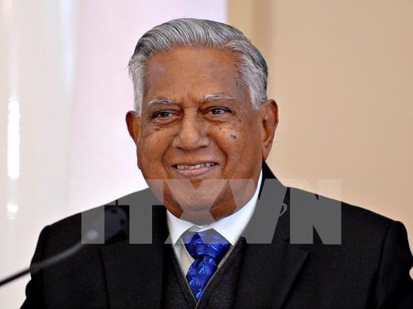 越南国家领导人就新加坡前总统逝世向新加坡领导人致慰问电 hinh anh 1
