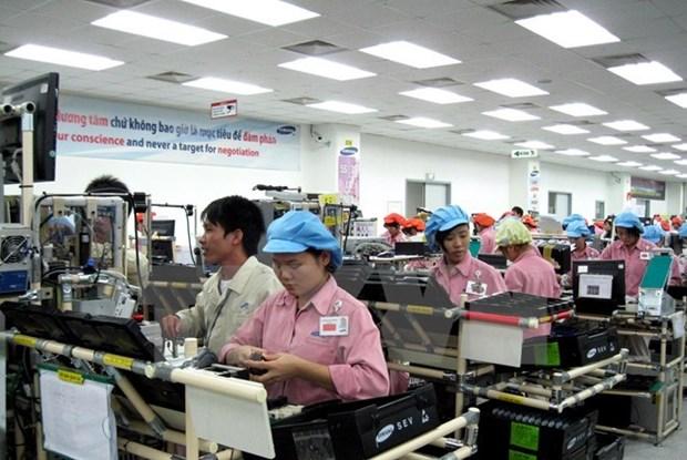 2016年8月越南外商投资项目到位资金达98亿美元 hinh anh 1