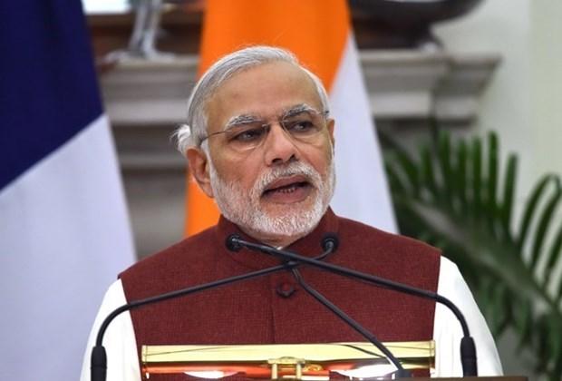 印度总理莫迪即将对越南进行正式访问 hinh anh 1