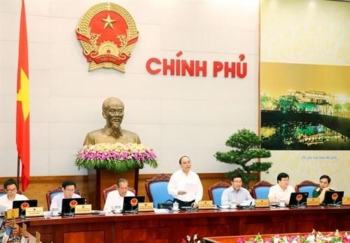 阮春福总理:市场信任度和社会信任度大幅提高 hinh anh 1