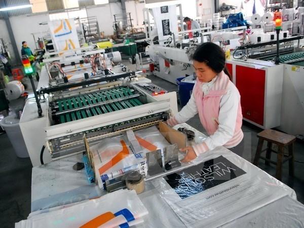 越南今年前8月工业生产指数小幅增长 hinh anh 1